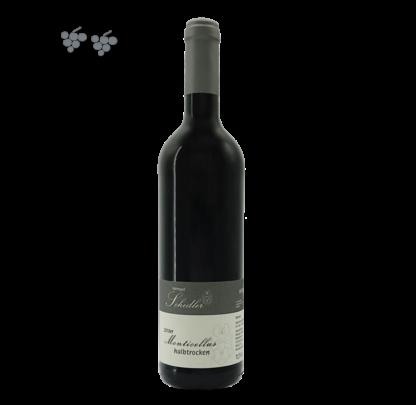 Monticellus Rotwein Cuvée halbtrocken von der Mosel